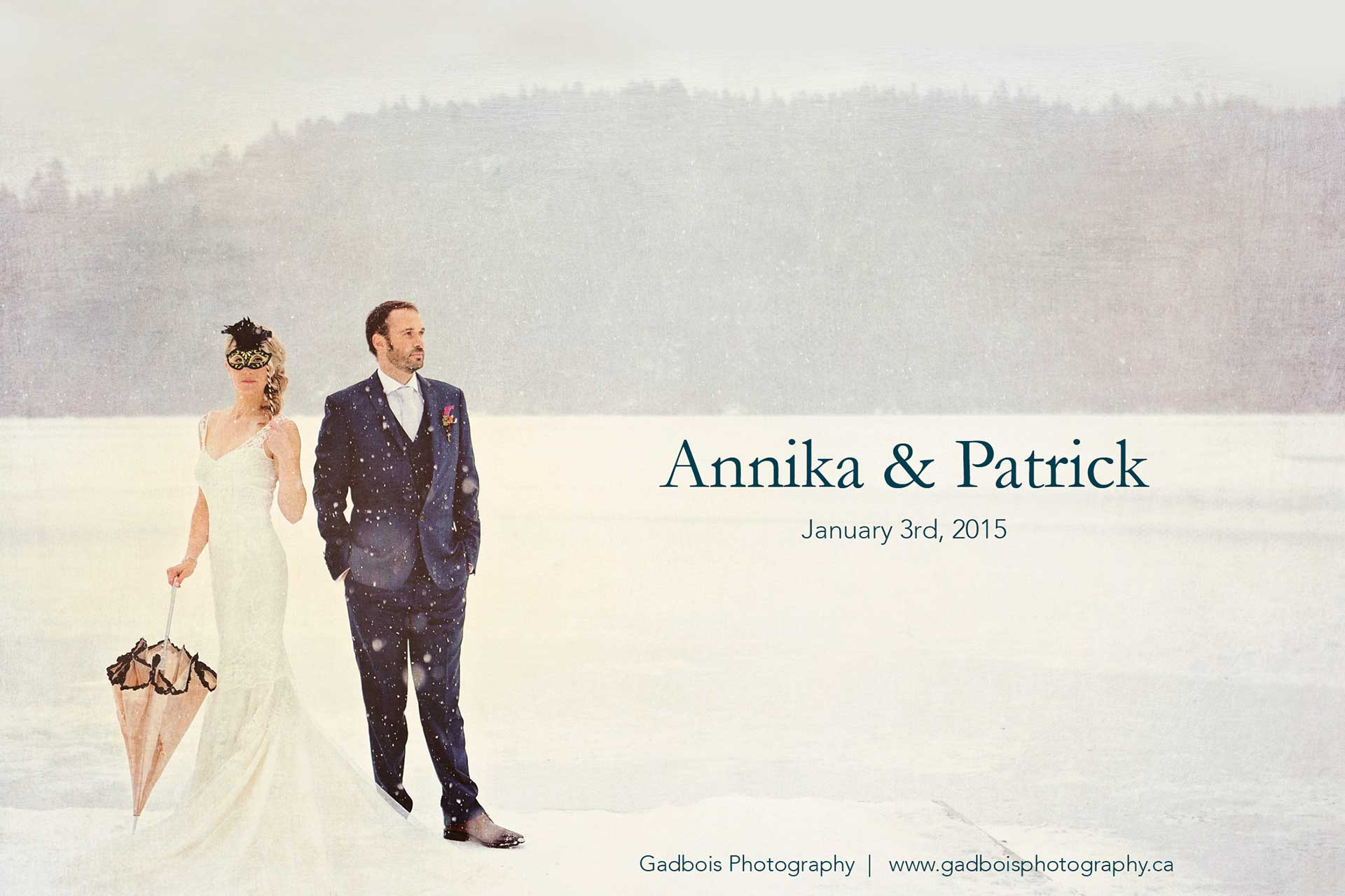 Annika and Patrick's Wedding