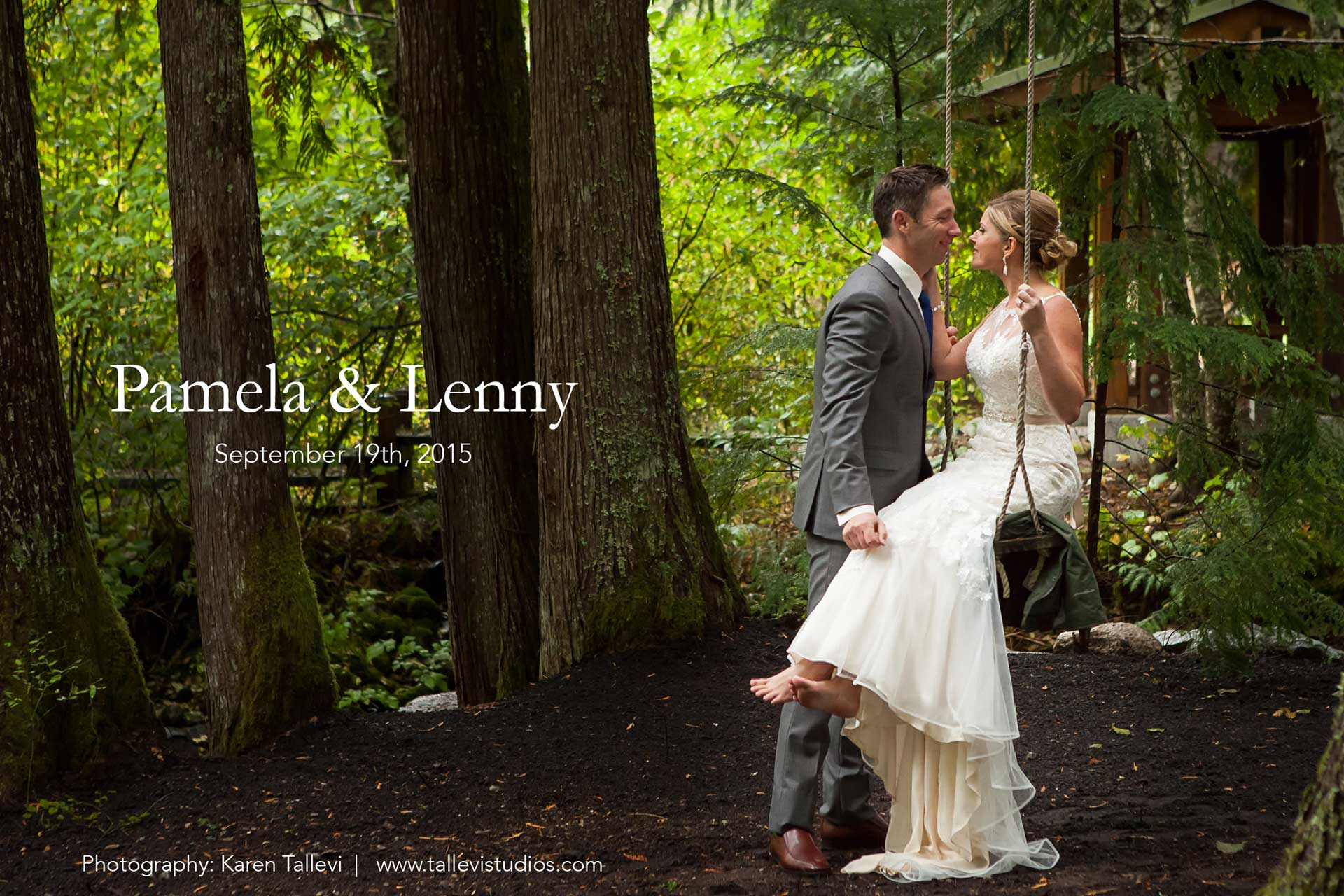 Pamela and Lenny's Wedding