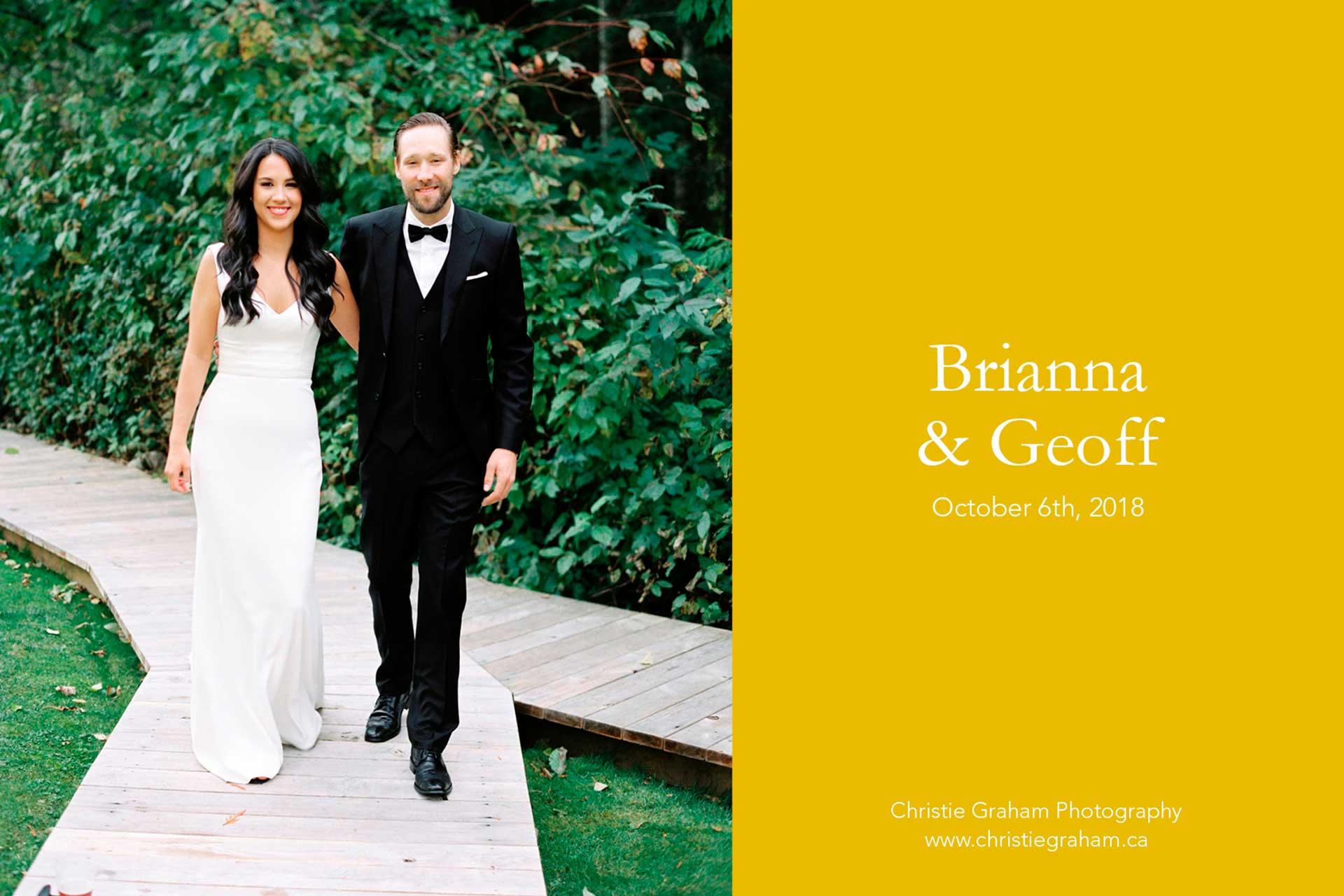 Brianna and Geoff's Wedding