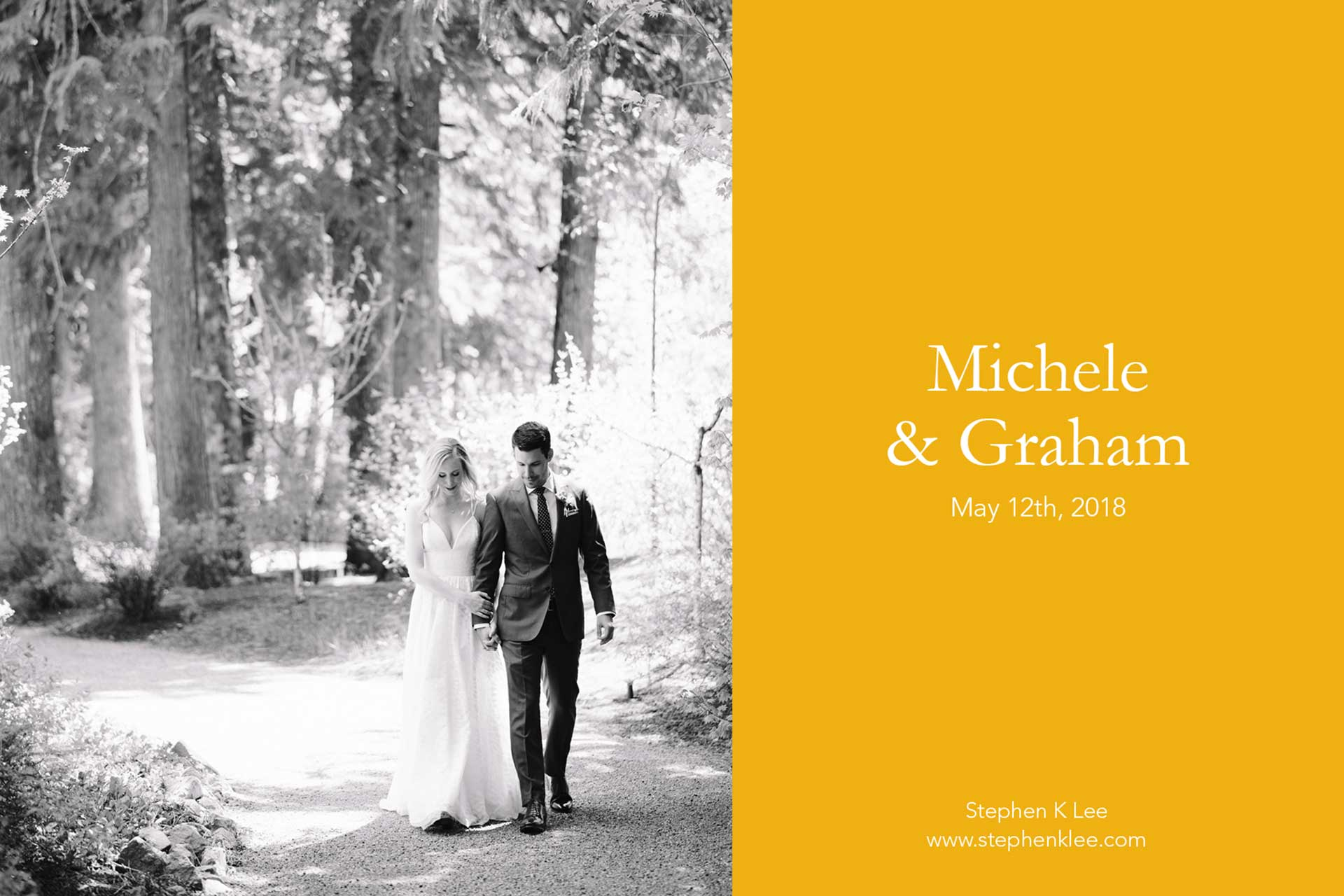 Michele and Graham's Wedding