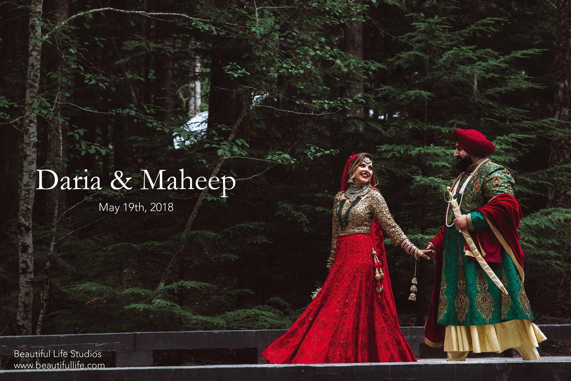 Daria and Maheep's Wedding