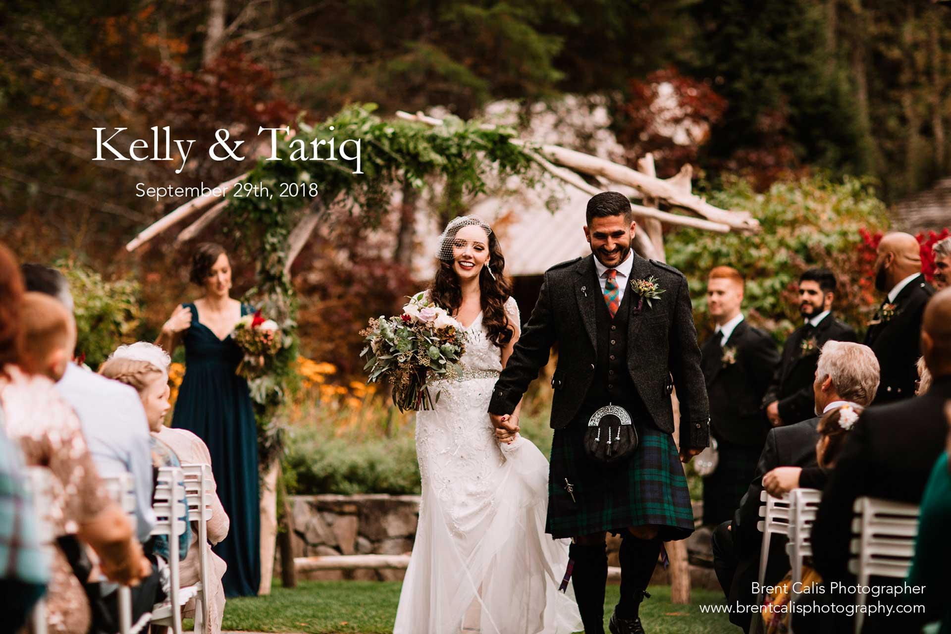 Kelly and Tariq's Wedding
