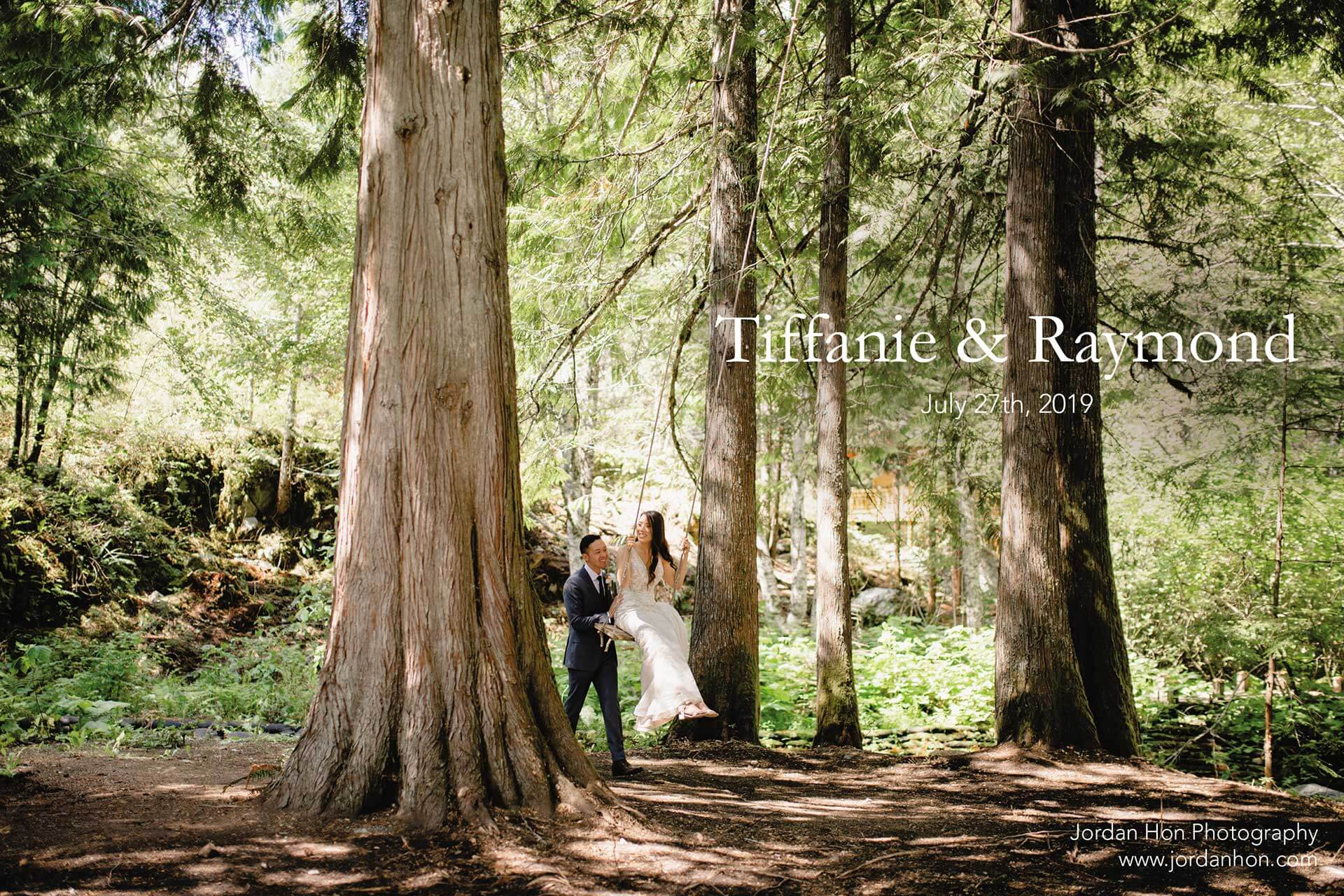 Tiffanie and Raymond's Wedding