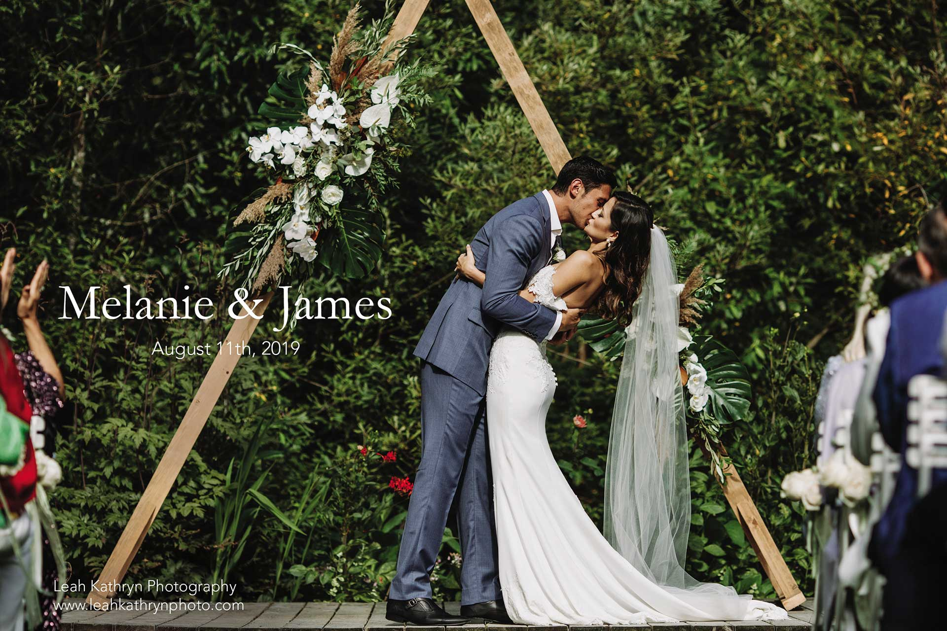 Melanie and James's Wedding